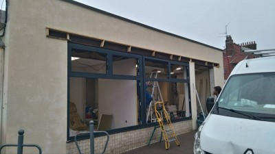 Nouvelle installation Châssis aluminium Reynaers