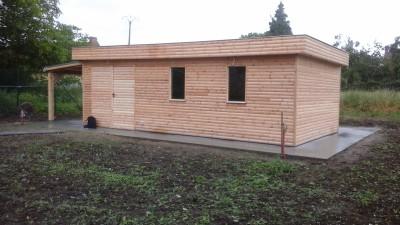 Construction abri de jardin