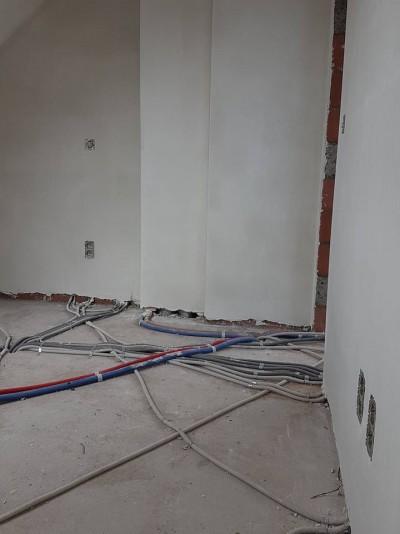 Au cours d'un chantier