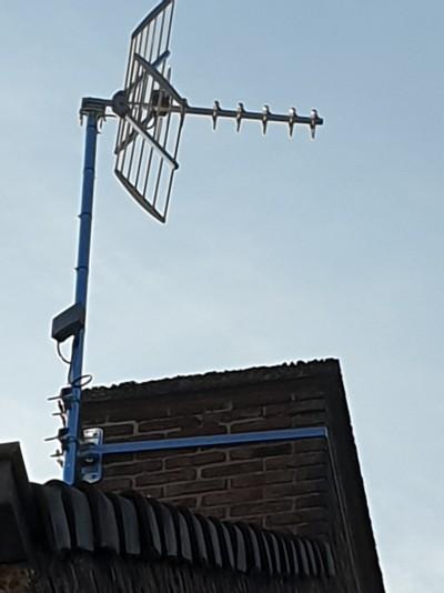 Installation d antenne tnt hertzienne