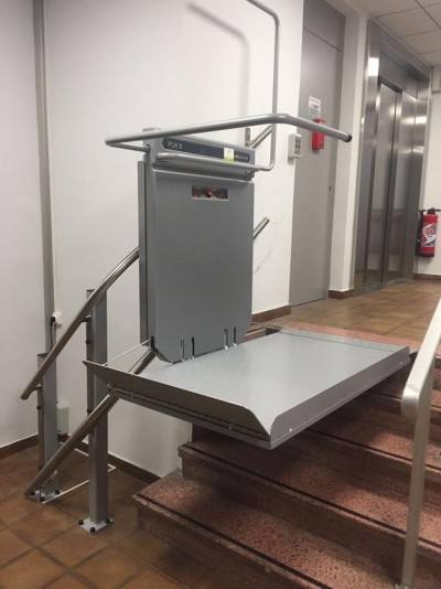 Installation Plateau d'escalier