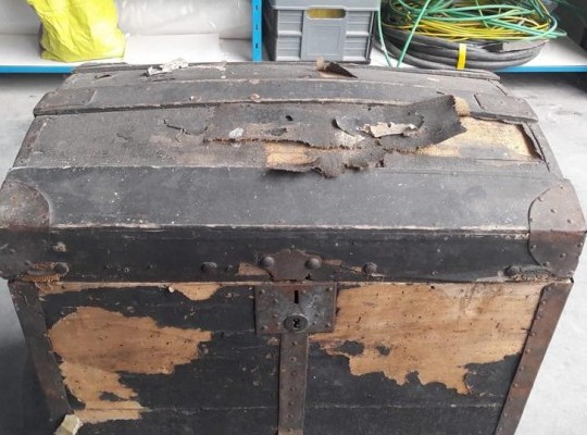 Restauration d'un coffre