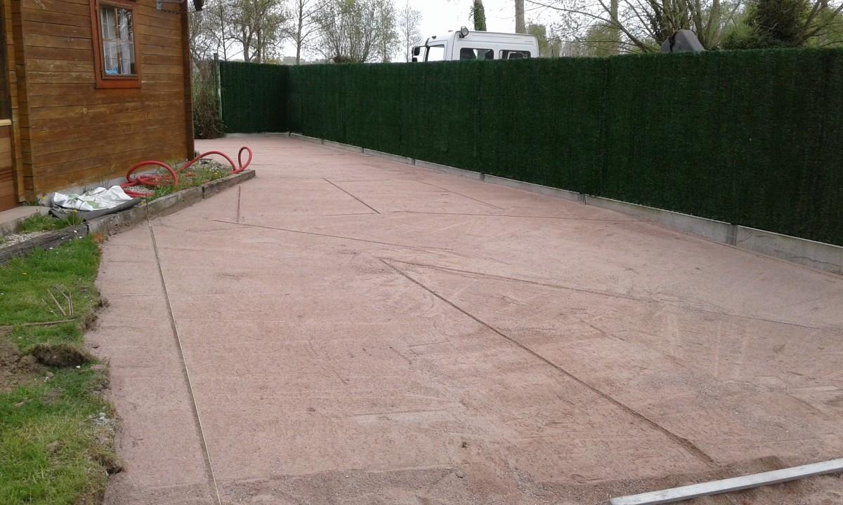 Dalle Beton Parking Herbe aménagement d'un parking en dalle à gazon… à tournai par van