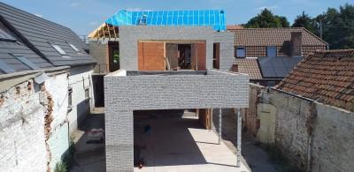 transformation et extension d' une habitation