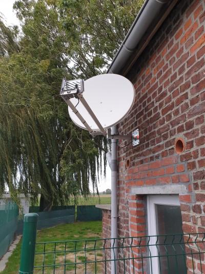 Installation de l internet par satellite