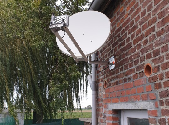 Installation de l internet par satellite