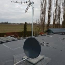 Réception TNT via antenne et satellite
