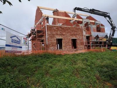 construction d'une maison unifamiale