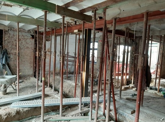Rénovation intérieure complète.
