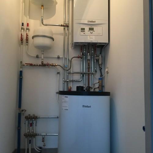 Installation complète de chauffage et sanitaire