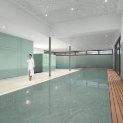 Piscine couverte de revalidation et extension centre de Kiné