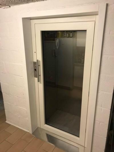 Escalier remplacé par un ascenseur domestique