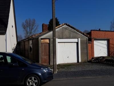 1 Démolition plus évacuation d'un garage (début)