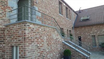 Rampes d'escalier, etc.