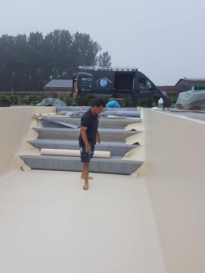 Construction piscine