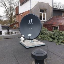 Installation satellite Fransat