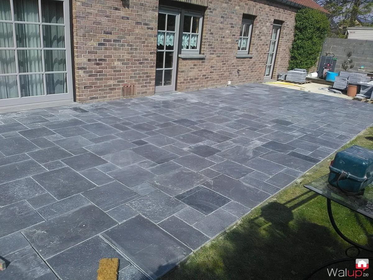 Terrasse Par Decaluwe David Entreprise De Construction