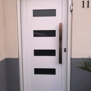 Pose d'une porte