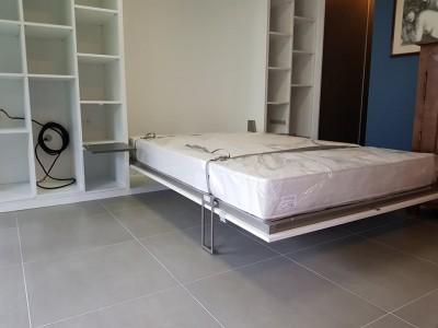 Placard avec lit intégré