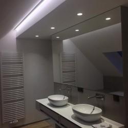 Aménagement éclairage douche, salle de bain et cuisine