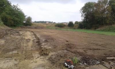 Nettoyage d'un terrain