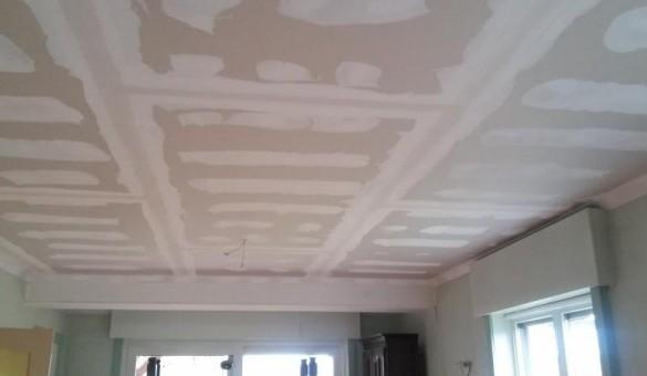 Réalisation d'un plafond