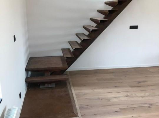 Escaliers en Corten