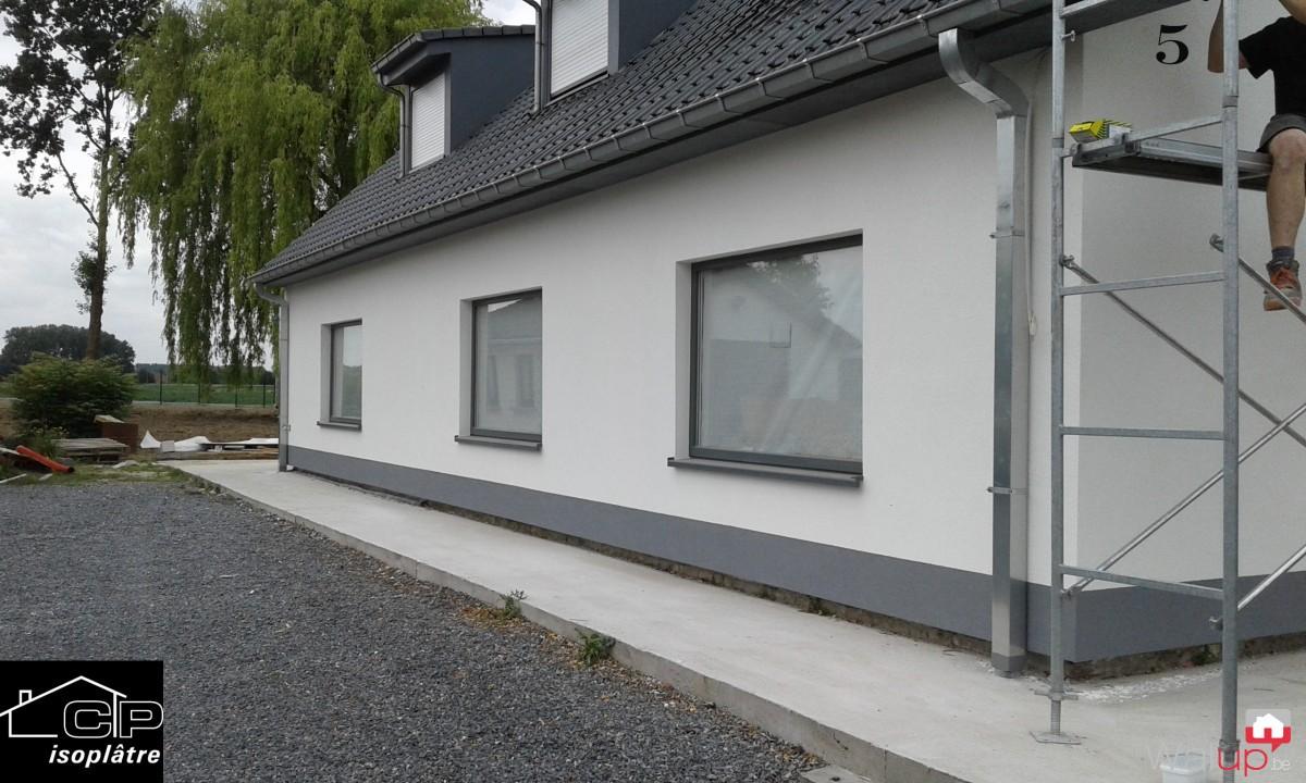 isolation pose de cr pi blandain par isopl tre. Black Bedroom Furniture Sets. Home Design Ideas