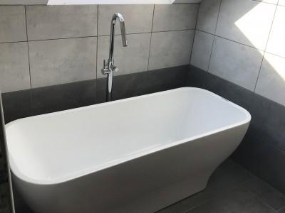 Pose de baignoires