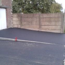 Aménagement d'une entrée pour garage