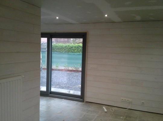 ré-aménagement d'un garage en cabinet médical