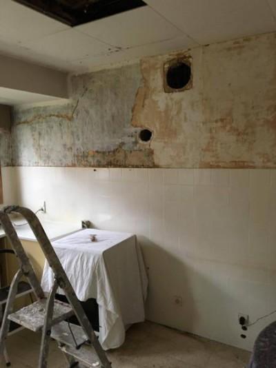 Rénovation d'une maison avant / après