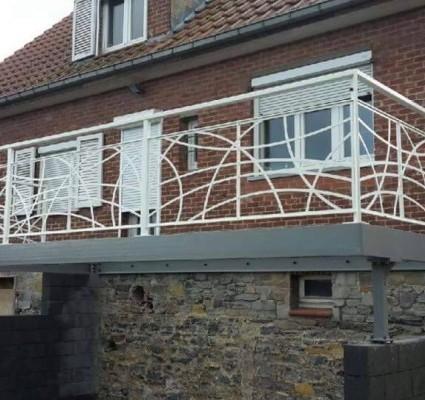 Réalisation d'un balcon