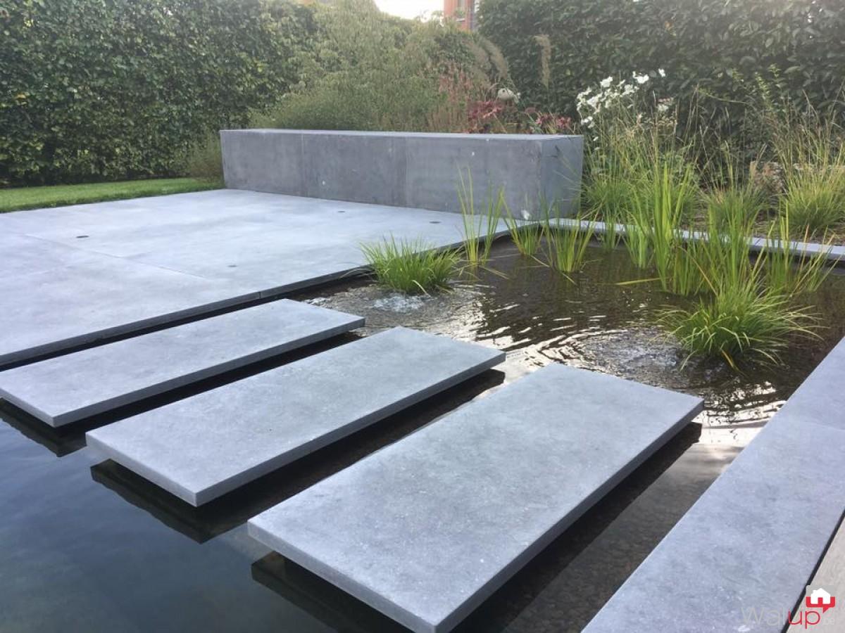 Aménagement d\'une pièce d\'eau, terrasses… par Actual Garden sprl