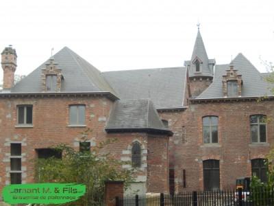 Restauration d'un chateau