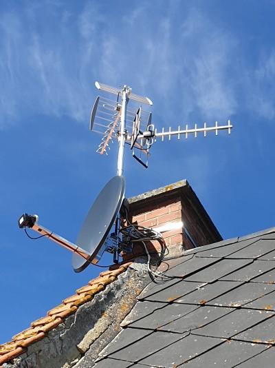 Rénovation installation TNT existante et ajout satellite