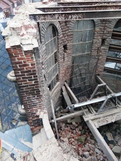 Une intervention SL Demolition