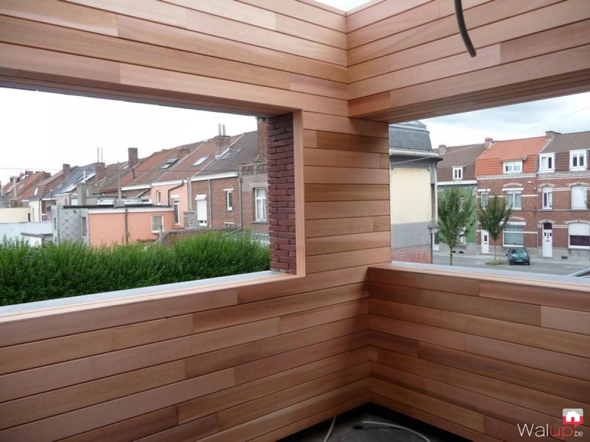 Terrasse Semi Ouverte Par Menuiserie Tournaisienne