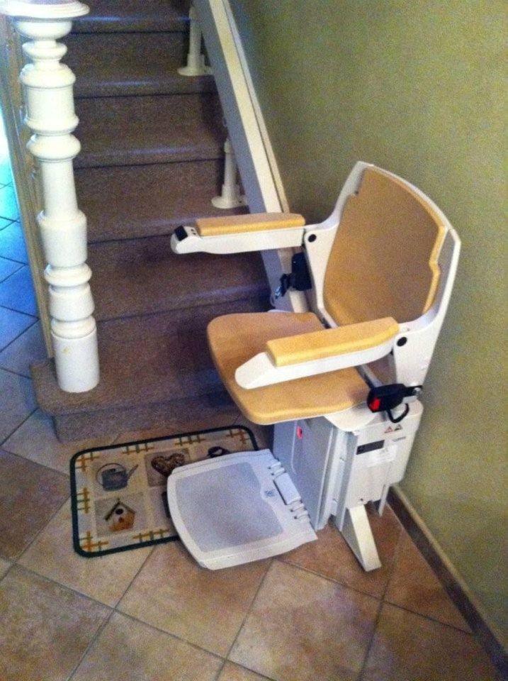 Chaise d 39 escalier stalift tournai for Chaise escalier